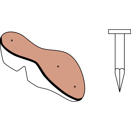 CLOUS - SEMENCE PLATE POUR PREMIERES